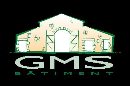Logo de GMS Bâtiment, Rénovation du patrimoine en Loire Atlantique 44